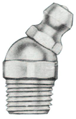 ALEMITE Hydraulic Fittings, Elbow - 30°, 29/32 in, Male/Male, 1/8 in (PTF)