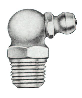 ALEMITE Hydraulic Fittings, Elbow - 90°, 27/32 in, Male/Male, 1/8 in (PTF)