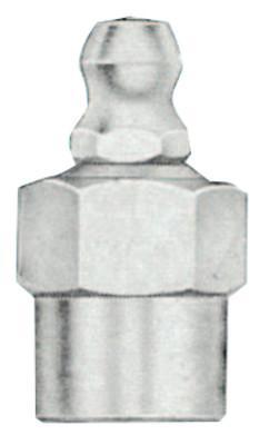 ALEMITE Hydraulic Fittings, Straight, 1 in, Male/Female, 1/4 in (NPTF)