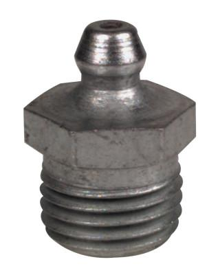 ALEMITE Hydraulic Fittings, Straight, 7/8 in, Male/Male, 1/4 in (PTF)
