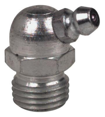 ALEMITE Hydraulic Fittings, Elbow - 67 1/2°, 31/32 in, Male/Male, 1/4 in (PTF)