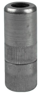 ALEMITE Hydraulic Coupler w/Rubber Seal & Built-In Check Valve, 1/8 in, Female/Female