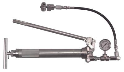ALEMITE Extreme Pressure Grease Guns, 12 oz, 15,000 psi, 1/4 in (NPTF), Hose/Coupler
