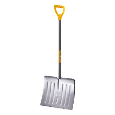 JACKSON PROFESSIONAL TOOL Shovels, 11 1/2 in X 8 3/4 in Round Point Blade, 27 in White Ash D-Handle
