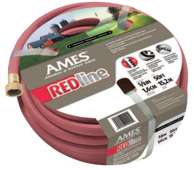 JACKSON PROFESSIONAL TOOL Redline Hot Water Hoses, 3/4 in X 100 ft, Red