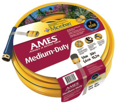 JACKSON PROFESSIONAL TOOL All Weather Garden Hoses, 5/8 in X 50 ft, Yellow
