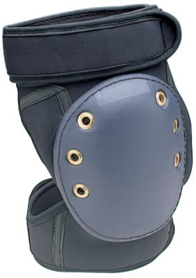 ALLEGRO Gel Kneepads, Hook and Loop, Black