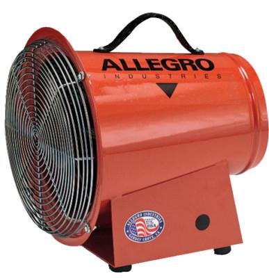 ALLEGRO AC Axial Blowers, 1/3 hp, 115 V