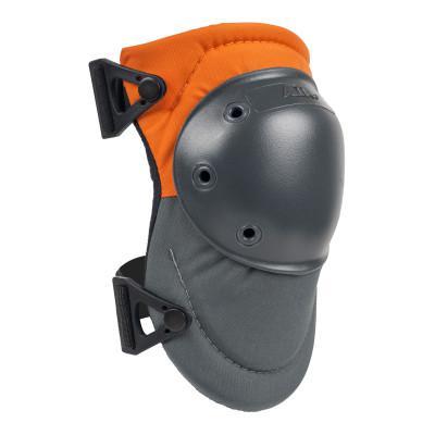 ALTA AltaPRO™ AltaLOK™ Hard Cap Industrial Knee Pads, Hook and Loop, Orange/Gray