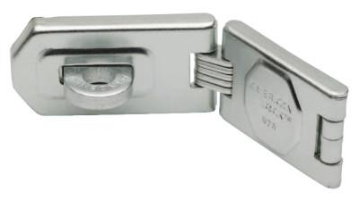 AMERICAN LOCK Single Hinge Hasps, 1 3/4 in W x 6 1/4 in L