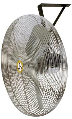 AIRMASTER Commercial Non-Oscillating Air Circulator, Wall/Ceiling, 30 in, 1/4 hp, 3-Speed