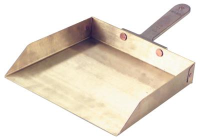 AMPCO SAFETY TOOLS Ampco Dust Pans, 9 in x 7 1/2 in
