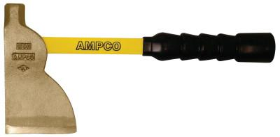 AMPCO SAFETY TOOLS Hatchets, 3 5/8 in Cut, Fiberglass Handle