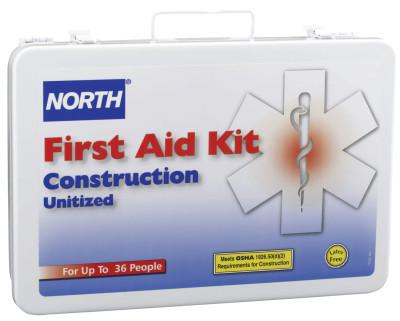 HONEYWELL NORTH Construction First Aid Kits, Metal