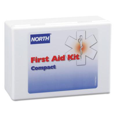 NORTH SAFETY Compact First Aid Kits, 26-Piece, Plastic Case