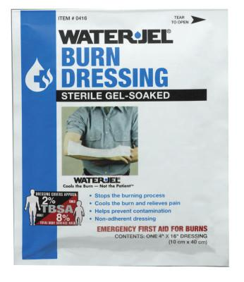 HONEYWELL NORTH Water Jel Burn Products, Dressing, 4 in x 16 in