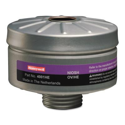 HONEYWELL NORTH Compact Air 200 Series PAPR Organic Vapor Cartridges with HEPA Filters