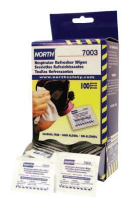 HONEYWELL NORTH Respirator Cleaning Wipes