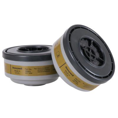 HONEYWELL NORTH Gas and Vapor Cartridges, Cartridge/Filter, Organic Vapor