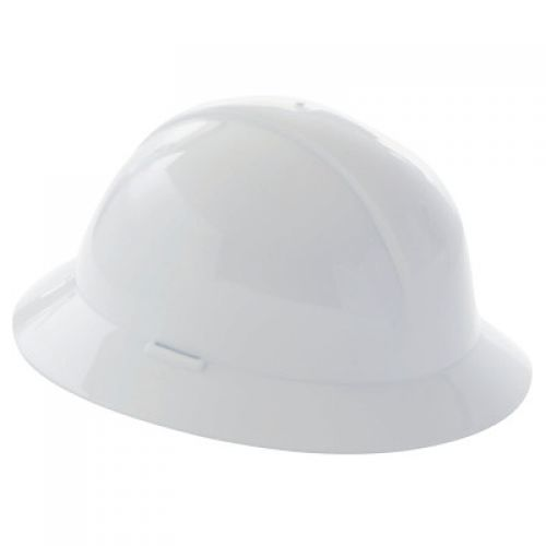 HONEYWELL NORTH Everest Hard Hats, 6 Point, Full Brim, Navy Blue