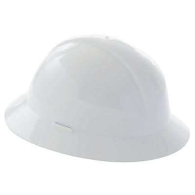 HONEYWELL NORTH Everest Hard Hats, 6 Point Nylon, White