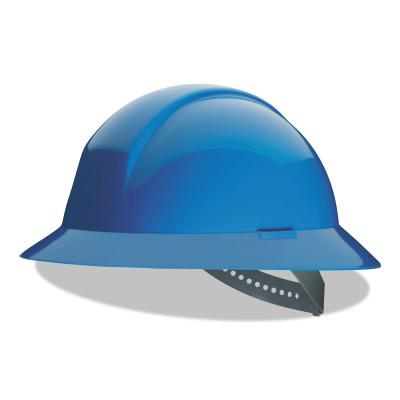 HONEYWELL NORTH Everest Hard Hats, 4 Point, Full Brim, Sky Blue