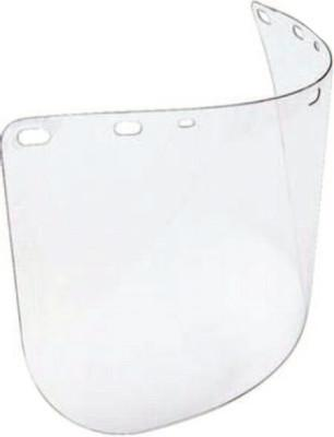 HONEYWELL NORTH Faceshield Windows, Clear, 18 3/4 in x 8 in
