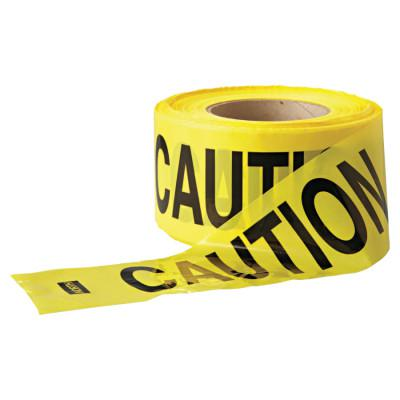 ANCHOR BRAND Economy Barrier Tape, 3 in x 1,000 ft, Yellow, Caution