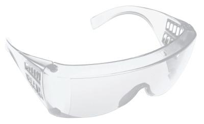 HONEYWELL NORTH Norton 180° Safety Glasses, Clear Lens, Anti-Scratch/Anti-Static/UV, Clear Frame