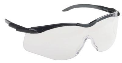 HONEYWELL NORTH N-Vision Safety Glasses, Clear, 4A Anti-Scratch/Anti-Fog/Anti-Static/UV, T5650