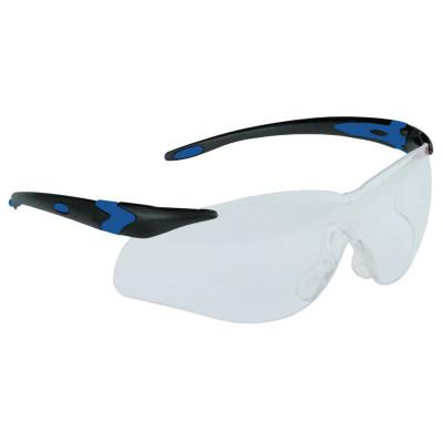 HONEYWELL NORTH Lightning Plus T6550 Series Safety Glasses, Clear Lens