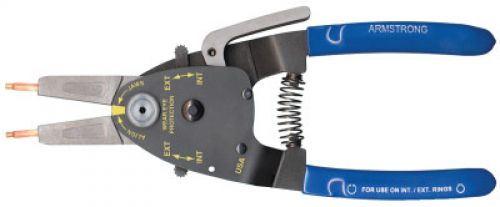 """ARMSTRONG TOOLS RETAIN RING PLIERS  2"""" CAP INT/EXT WIT"""