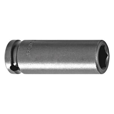 """APEX 1/4"""" Dr. Deep Sockets, 20445, 1/4 in Drive, 1/4 in, 12 Points"""