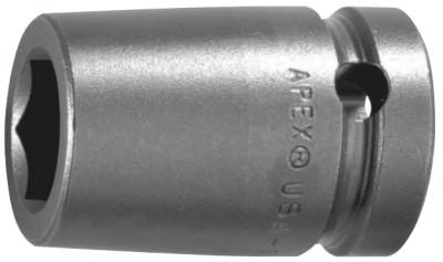 """APEX 1/2"""" Dr. Deep Sockets, 20361, 1/2 in Drive, 12 mm, 12 Points"""