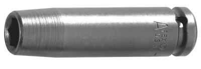 """APEX 3/8"""" Dr. Deep Sockets, 20552, 3/8 in Drive, 13 mm, 6 Points"""