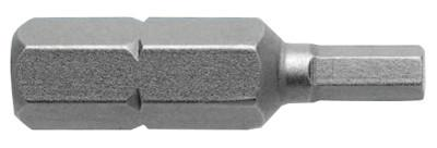 "APEX 22145 2.5MM SOCKET HEADINSERT BIT 1/4"" HEX DR"