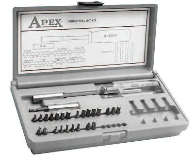 APEX 24 Bit Drive Tool Sets