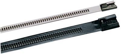 BAND-IT Multi-Lok Uncoated Ties, 250 lb Tensile Strength, Natural, 6 in, 100 per package