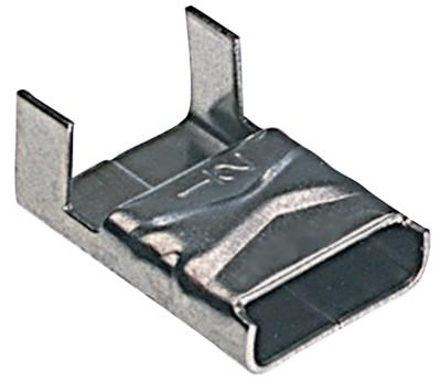 BAND-IT Ear-Lokt Buckles, 1/4 in, Stainless Steel 201