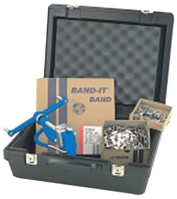 """BAND-IT 1/2"""" BAND BUCKLES &BAND-ING TOOL  E"""