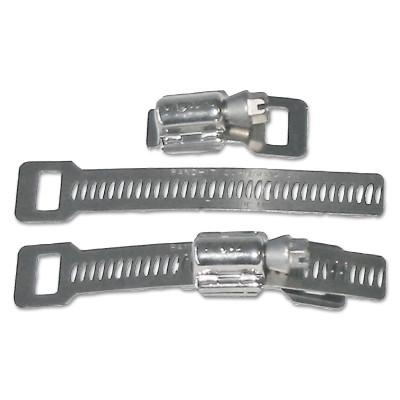 BAND-IT Scru-Band Clamp Sets, 3/8 in, Worm Drive, Stainless Steel