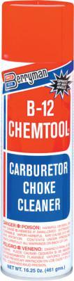 BERRYMAN PRODUCTS B-12 CHEMTOOL Carburetor/Choke Cleaner, 16 oz Aerosol Can