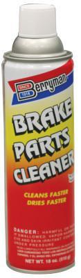 BERRYMAN PRODUCTS Brake Cleaner, 19 oz Aerosol Can