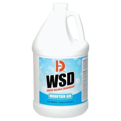 BIG D INDUSTRIES Water-Soluble Deodorant, Mountain Air, 1gal