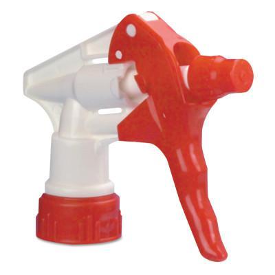 BOARDWALK PAPER Trigger Sprayer 250 for 32 oz Bottles, Red/White, 9 1/4 in Tube