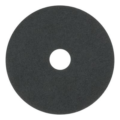 "BOARDWALK Standard Floor Pads, 17"" Diameter, Black"