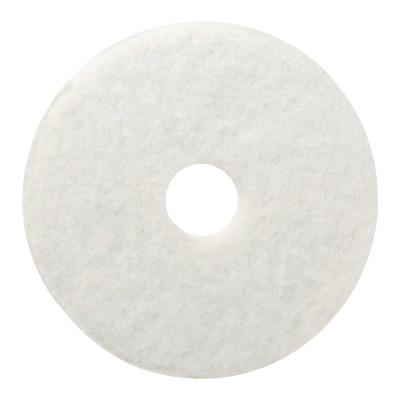"BOARDWALK Standard Floor Pads, 20"" Diameter, White"