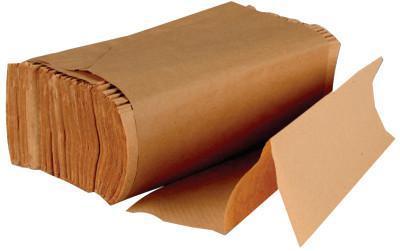 BOARDWALK PAPER Multi-Fold Paper Towels, Kraft