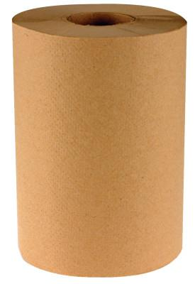 BOARDWALK PAPER Non-Perforated Hardwound Roll Towels, Kraft, 350 ft. roll