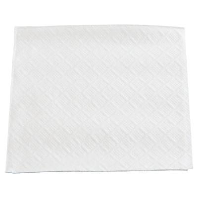 "BOARDWALK Beverage Napkins, 1-Ply, 9 1/2"" x 9"", White"